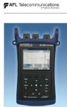 OFL280 FlexTester  Multifunction OTDR and Loss Test Set