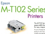 Epson M-T102A autocutter Series Printers